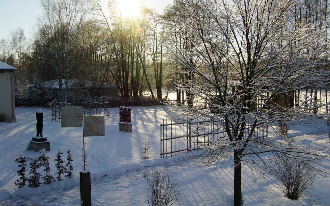 Zauberhafter Schnee im Kunstort…
