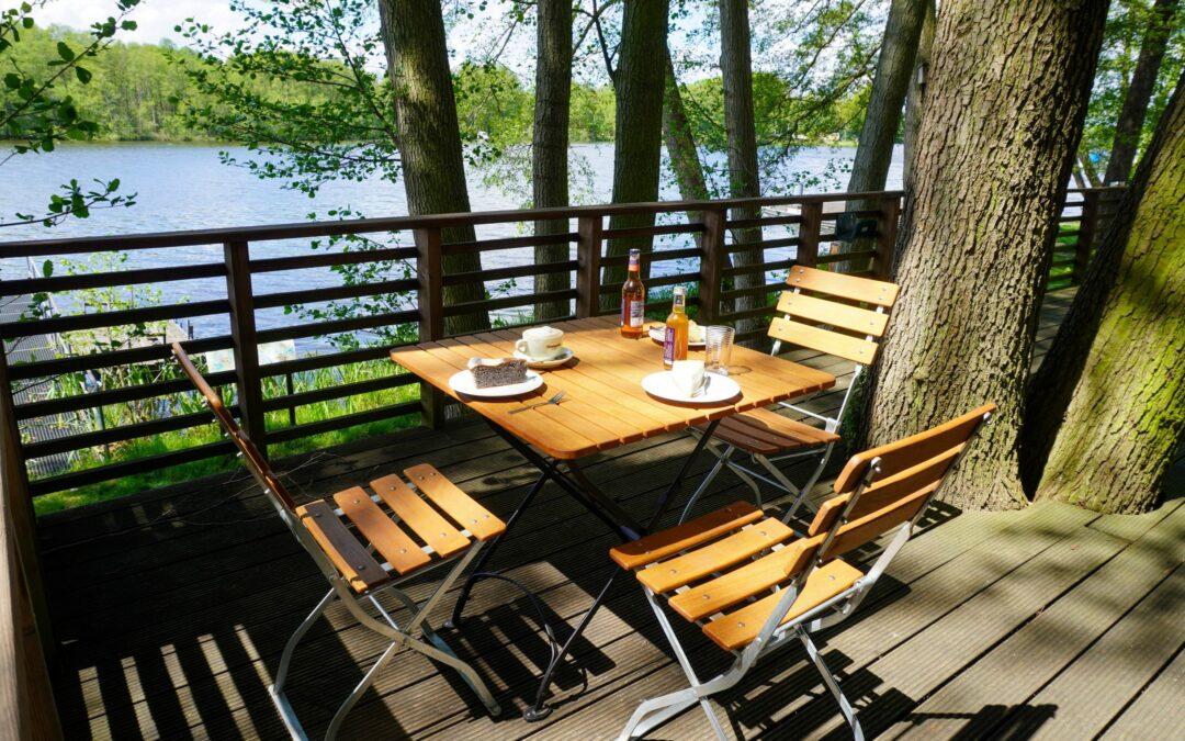 Ufercafé Terrasse geöffnet!