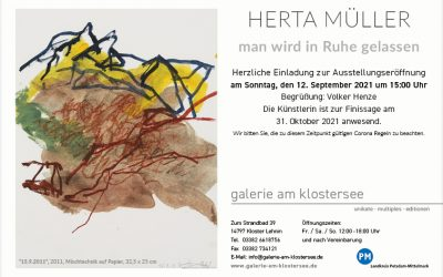 Ausstellung Herta Müller